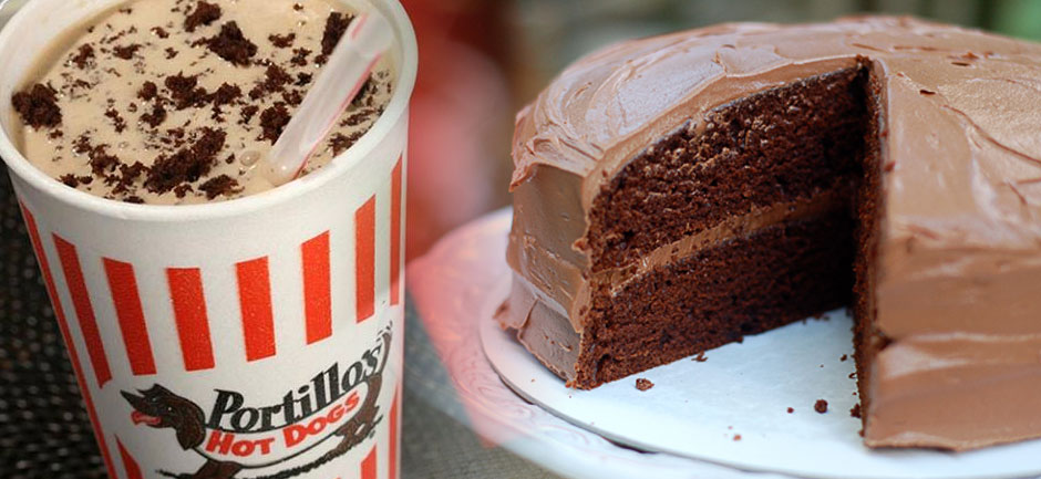 Portillos Chocolate Cake Shake